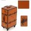 กระเป๋าเดินทางวินเทจ รุ่น vintage classic น้ำตาลส้มคาดน้ำตาล ขนาด 24 นิ้ว thumbnail 5