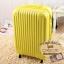 กระเป๋าเดินทางไฟเบอร์ รุ่น pastal เหลือง ขนาด 24 นิ้ว thumbnail 1