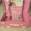 รีวิว กระเป๋าเดินทางล้อลากสไตล์วินเทจ สีชมพู thumbnail 4
