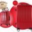 กระเป๋าเดินทางไฟเบอร์ รุ่น Aluminium แดง ขนาด 28 นิ้ว thumbnail 3