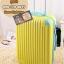 กระเป๋าเดินทางไฟเบอร์ รุ่น pastal เหลืองขอบฟ้า ขนาด 20 นิ้ว thumbnail 1
