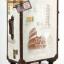 กระเป๋าเดินทางวินเทจ รุ่น vintage classic ลายเมืองอิตาลี ขนาด 24 นิ้ว thumbnail 1
