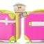 กระเป๋าเดินทางวินเทจ รุ่น colorful ชมพูคาดเขียว ขนาด 22 นิ้ว thumbnail 2