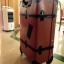 กระเป๋าเดินทางวินเทจ รุ่น retro brown น้ำตาลคาดดำ ขนาด 26 นิ้ว thumbnail 8