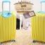 กระเป๋าเดินทางไฟเบอร์ รุ่น pastal เหลืองขอบฟ้า ขนาด 20 นิ้ว thumbnail 3