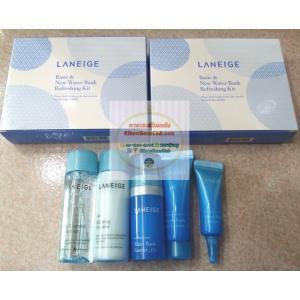 Laneige (ลาเนจ) Basic & New Water Bank Refreshing Kit 5 ชิ้น 1 กล่อง