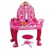 โต๊ะเครื่องแป้ง+เปียโน เก้าอี้ พร้อมคฑารีโมท และไดร์เป่าลม และอุปกรณ์เสริมสวยครบเซต