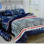 ผ้าปูที่นอนราคาถูก ขนาด 6 ฟุต(5 ชิ้น)[GB-69]