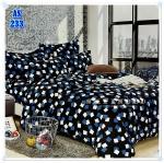 ผ้าปูที่นอนเกรด A ขนาด 5 ฟุต(5ชิ้น)[AS-233]