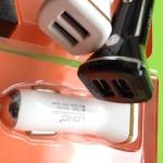 ชาร์จรถอเนกประสงค์ LDNIO Dual USB Car Charger 2.1