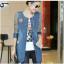 FW6008025 เสื้อแจ็กเก็ตยีนส์ แขนยาวอบอุ่นแฟชั่นเกาหลี (พรีออเดอร์) รอ 3 อาทิตย์หลังโอนเงิน thumbnail 2