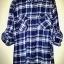 เสื้อเชิ๊ตลายสก๊อตสีน้ำเงิน แบบเทห์ สภาพดี ราคา 150 บาท thumbnail 3