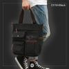 CV18-Black กระเป๋าถือผู้ชาย + สะพายข้าง ผ้าแคนวาส สีดำ