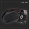 CV02-Black กระเป๋าสะพายไหล่ กระเป๋าคาดอก ผ้าแคนวาส สีดำ