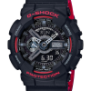 Casio G-Shock Limited Black & Red (HR) series รุ่น GA-110HR-1A