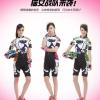 **สินค้าพรีออเดอร์**ชุดปั่นจักรยาน ผู้หญิง cat (เสื้อ+กางเกงขาสั้น) มี 3 สี
