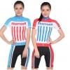 **สินค้าพรีออเดอร์**ชุดปั่นจักรยาน easetour ผู้หญิงลายมาใหม่(เสื้อ+กางเกง) มี 5 สี