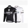 **สินค้าพรีออเดอร์**เสื้อแขนยาว Bianchi มี 2 สี ขาว/ดำ