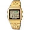 CASIO รุ่น A500WGA-1D DATABANK World time Lady Watch