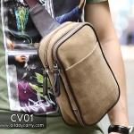 CV01 กระเป๋าสะพายไหล่ กระเป๋าคาดอก ผ้าแคนวาส