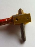 ชุดหัว Extruder พร้อม Heater และ Thermistor สำหรับ Filament 1.75