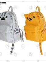 กระเป๋าคอสเพลย์หญิงแฟชั่น Neko Atsume แต่งรูปแมวน่ารัก