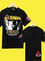 เสื้อยืดคอสเพลย์แฟชั่น MONO KUMA แขนสั้น Danganronpa The Animation <มี2สี>