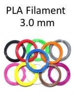 เส้นพลาสติก PLA Filament ขนาด 3.00 mm (1 kg / ม้วน)