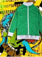 ชุดคอสเพลย์หญิงแฟชั่น Vocaloid Hatsune Miku แนวชุดวอร์ม Sport <มี4สี>