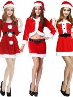 ชุดคอสเพลย์เจ้าหญิงซานต้า แนวชุดคริสต์มาสสีแดง