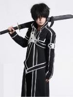 ชุดคอสเพลย์ชายแฟชั่น คิริงายะ[คิริโตะ]คาซึโตะ Sword Art Online แนวซามูไร