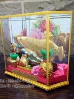 ของขวัญขึ้นบ้านใหม่มงคล ปลามังกรสีทอง