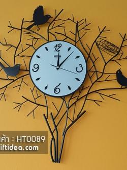 นาฬิกากิ่งไม้และรังนก สำหรับแต่งบ้านสวยๆเก๋ๆ