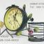 นาฬิกาตั้งโต๊ะ สไตล์ Vintage เก๋ๆ รูปกิ่งไม้และผีเสื้อ มีตะกร้าใส่ของเล็กๆน้อยๆได้ thumbnail 2