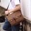 CV09-Brown กระเป๋าสะพายข้าง ผ้าแคนวาส สีน้ำตาล thumbnail 5
