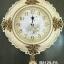 นาฬิกาแขวนติดผนังสีขาว ดอกกุหลาบทองแต่งลวดลายสวยๆไม่เหมือนใคร thumbnail 1