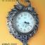 นาฬิกาติดผนัง รูปหงส์ทองคู่ ประดับตกแต่งบ้าน thumbnail 3