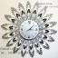 นาฬิกาติดผนัง สไตล์ Modern รุ่นพลอยรัศมีขาวดำ สวยเก๋งดงามมาก thumbnail 1