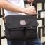 CV09-Black กระเป๋าสะพายข้าง ผ้าแคนวาส สีดำ thumbnail 6