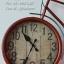 นาฬิกาสไตล์วินเทจ รูปทรงจักรยานวินเทจสีแดงสวยๆเก๋ๆ thumbnail 2