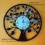นาฬิกาติดผนังตกแต่งบ้าน รูปต้นไม้ ผีเสื้อ นก และดอกไม้ thumbnail 1