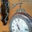 นาฬิกาแขวนสวยๆติดผนัง ทำจากไม้ มีหน้าปัด 2 หน้า thumbnail 3