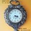 นาฬิกาติดผนัง รูปหงส์ทองคู่ ประดับตกแต่งบ้าน thumbnail 1