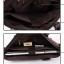 CV07-Black กระเป๋าถือผู้ชาย + สะพายข้าง ผ้าแคนวาส สีดำ thumbnail 6