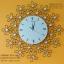 นาฬิกาแขวนบ้านติดผนัง รูปดอกไม้ 5 กลีบ หน้าปัดใหญ่ thumbnail 1