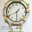 นาฬิกาแขวนผนังเก๋ๆ สไตล์วินเทจ Vintage ประดับขอบด้วยหมีและดอกไม้สวยๆ thumbnail 1
