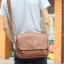 LT11-Brown กระเป๋าสะพายข้าง หนัง PU สีน้ำตาล thumbnail 12