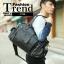 LT23 กระเป๋าสะพายข้าง หนัง PU สีดำ thumbnail 2