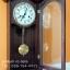 นาฬิกาไม้ติดผนังตกแต่งบ้านสุดคลาสสิค ระบบไขลานแบบโบราณ มีเสียงระฆังตีบอกเวลา รุ่น VC-0505 thumbnail 3
