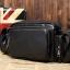 LT29 กระเป๋าสะพายข้าง หนัง PU สีดำ thumbnail 5